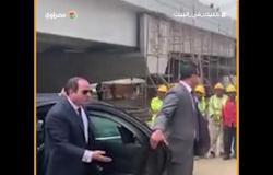 لعدم ارتداء العمال كمامات.. السيسي يعنف مسئول أحد المشروعات