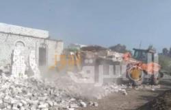 استرداد 400 فدان من أراضي أملاك الدولة في مطاي بالمنيا