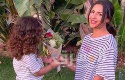 """ريهام أيمن تحتفل بعيد ميلاد ابنتها على """"إنستجرام"""""""