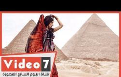 هبة طوجي لـاليوم السابع عشقت مصر.. والغناء أمام الأهرامات له عظمة ورهبة كبيرة