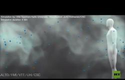 فيديو ثلاثي الأبعاد يكشف كيفية انتشار قطرات فيروس كورونا في الأماكن المغلقة