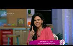 السفيرة عزيزة - هاتفيا د. محمود الأنصاري  : لا ينصح بارتداء الكمامة من سن 6 لـ 11 سنة