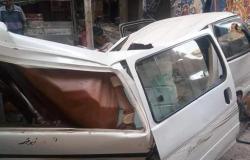 مصرع شخصين وإصابة 4 آخرين في انهيار شرفة بعقار في الإسكندرية (فيديو وصور)