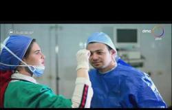 """السفيرة عزيزة - محمد وآية ..""""غرام في العزل"""" قصة حب داخل مستشفى المنصورة"""