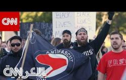 """ما هي جماعة """"ANTIFA"""" التي تحملها إدارة ترامب مسؤولية العنف في المظاهرات"""