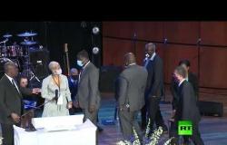 عائلة جورج فلويد تحضر مراسم تأبينه في مينيابوليس