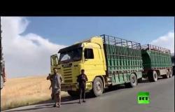 الإدارة الذاتية شمال شرقي سوريا تمنع الفلاحين من بيع القمح لدمشق
