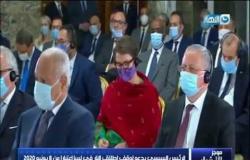 موجز الأخبار| الرئيس السيسي يدعو لوقف اطلاق النار في ليبيا