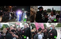 لقطات تظهر جميع ألوان الاحتجاج في رود آيلاند الأمريكية