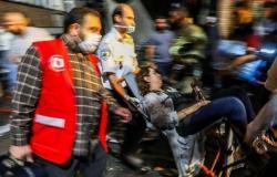 بالفيديو.. لحظة انفجار مركز طبي في طهران ومقتل 19 شخصًا