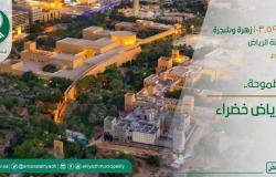 616 زهرة وشجرة تُزرع كل دقيقة في الرياض.. تحسينًا للمشهد الحضري