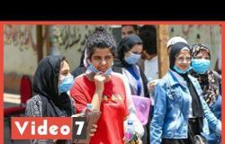 ارتياح بين طلاب الثانوية العامة بمصر الجديدة لسهولة الفلسفة