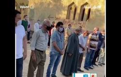 تشييع جثمان الفنان محمود جمعة إلى مثواه الأخير