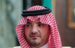 """وزير الداخلية يقدم واجب العزاء لذوي العميد متقاعد """"العنزي"""""""