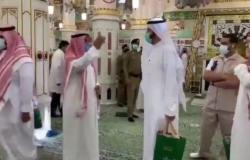 بالفيديو.. وزير الصحة يقوم بجولة تفقدية بالمسجد النبوي الشريف