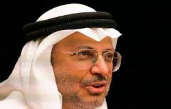 """موقفنا كالشمس.. """"قرقاش"""": ثقتنا مطلقة في إدارة السعودية لـ""""أزمة قطر"""""""