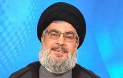 نصر الله يهاجم أمريكا ويتهمها بخنق وحصار لبنان