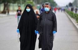 العراق: تسجيل 2734 إصابة جديدة و95 وفاة بكورونا