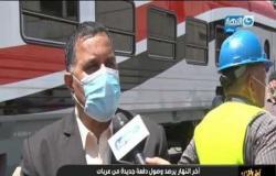 وصول دفعة جديدة من عربات ركاب السكة الحديد إلى ميناء الاسكندرية