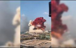 بالفيديو.. المشاهد الأولية لانفجارات لبنان.. والرئيس عون يدعو لاجتماع طارئ