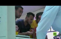 فلسطينيون يتبرعون بالدم لضحايا انفجار مرفأ بيروت