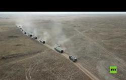 """مشاهد جديدة لإطلاق صواريخ """"إسكندر- إم"""" الروسية الضاربة"""
