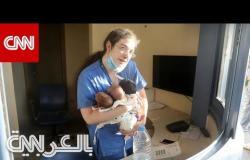 الممرضة اللبنانية باميلا زينون تروي لـCNN رحلة إنقاذ الرضّع الثلاثة