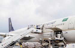وصول أولى طلائع الجسر الجوي السعودي لمساعدة منكوبي بيروت