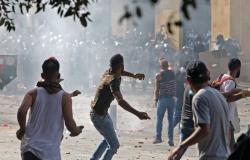 سقوط قتيل من الشرطة اللبنانية خلال الاشتباكات مع المحتجين