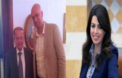 شاهد شقيق وزيرة لبنانية يهدد بحرق محطة تلفزيون .. بالفيديو