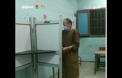 توافد المواطنين قبل غلق لجان الانتخابات