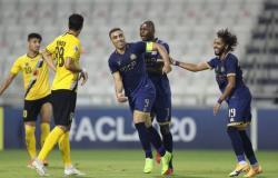 """الآسيوي :""""حمدالله"""" رجل مباراة النصر وسباهان"""