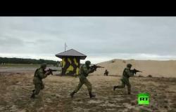 عسكريون روس وبيلاروس يتدربون على تحرير الرهائن