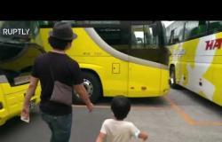 شركة حافلات يابانية تبتكر فكرة عبقرية في زمن كورونا