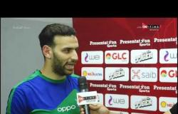 ستاد مصر - لقاءات خاصة مع لاعبي المقاصة عقب التعادل مع الأهلي في الدوري