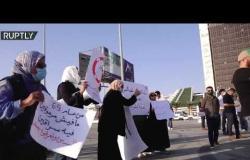 مظاهرات في بنغازي الليبية للمطالبة بالقضاء على الفساد