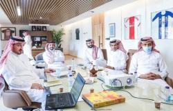 معهد إعداد القادة والاتحاد السعودي يناقشان مجالات التعاون بينهما