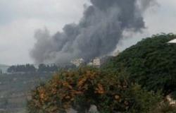 إصابات في انفجار بموقع لحزب الله في إقليم التفاح جنوب لبنان