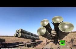 نشر منظومات صواريخ اس-300 و اس-400 في مناورات قوقاز-2020