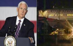 بالفيديو.. لماذا هبطت اضطرارياً طائرة نائب الرئيس ترامب؟