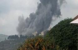 انفجار مريب داخل موقع لحزب الله جنوب لبنان .. بالفيديو