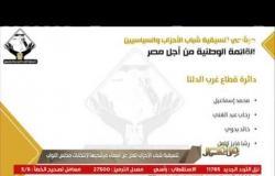من مصر | تنسيقية شباب الأحزاب تعلن عن أسماء مرشحيها لانتخابات مجاس النواب