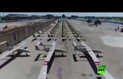 تزويد القوات البحرية في الحرس الثوري بعشرات طائرات مسيرة ومروحيات هجومية - نقلا عن تلفزيون إيران