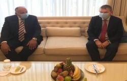 """بمشاركة مصر.. انطلاق اجتماع عمّان الرباعي حول """"السلام في الشرق الأوسط"""""""
