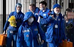 """روسيا: 7212 إصابة جديدة بـ """"كورونا"""""""