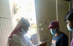 """""""عمل الرياض"""" يضبط """"21"""" عاملًا مخالفًا ويغلق 12 محلًّا"""