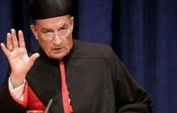 """""""الراعي"""" يحذر: لبنان يواجه أخطاراً مضاعفة في غياب الحكومة"""