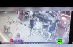 قتلى وجرحى بانفجار دراجة نارية أثناء تزودها بالوقود شمالي إيران