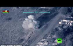 وزارة دفاع آذربيجان تنشر فيديو لطائراتها وهي تدمر دبابات للجيش الأرمني