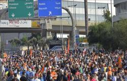 لبنان.. احتجاجات تندد بفشل الساسة في تشكيل حكومة إنقاذ